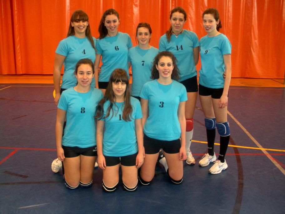 Equipo cadete femenino, tras su victoria