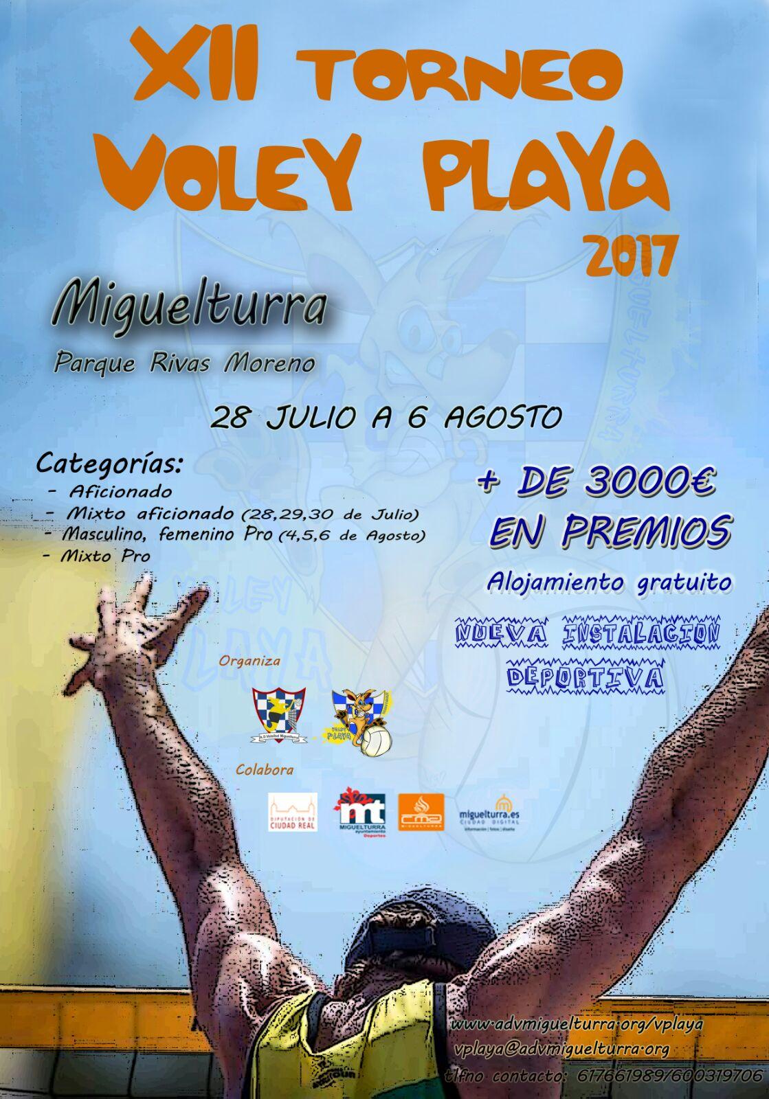 XII Torneo Miguelturra de Voley-Playa