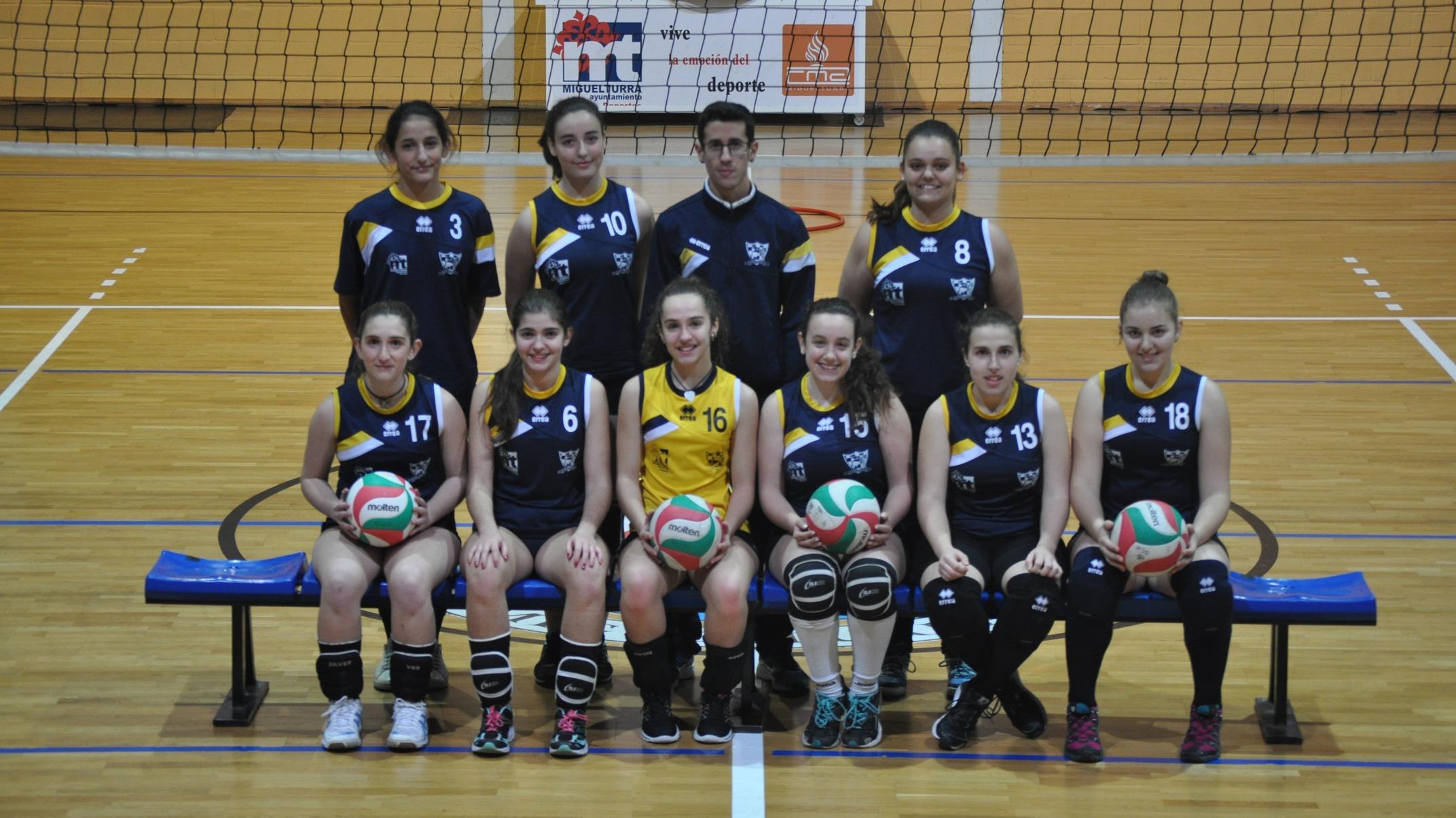 El equipo juvenil femenino